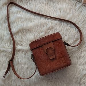 Express EXP Vintage Purse Brown Leather